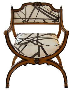 Kelly Wearstler Channels X Chair. I die.