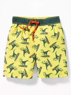 Old Navy Printed Swim Trunks for Toddler Boys Toddler Boy Fashion, Toddler Boy Outfits, Kids Outfits, Outfits For Teenage Guys, Toddler Pants, Toddler Boys, Toddler Swim Trunks, Streetwear Shorts, Toddler Swimsuits