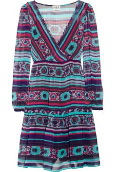 Colorida printed chiffon dress by ALICE by Temperley