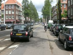 Another busy main road, with nothing for cycling Physical Change, Physical Environment, Amsterdam, Physics, Maine, Cycling, Street View, Culture, Lifestyle