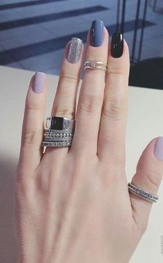 Rings and nails: Related posts:All kind of women accessoriesWhite shirt and accessoriesCute purse for August Classy Nails, Stylish Nails, Fancy Nails, Trendy Nails, Cute Nails, Minimalist Nails, Cute Acrylic Nails, Acrylic Nail Designs, Perfect Nails