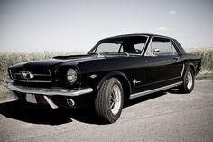 Ford Mustang 1964 by Blacklightdesign, via Flickr