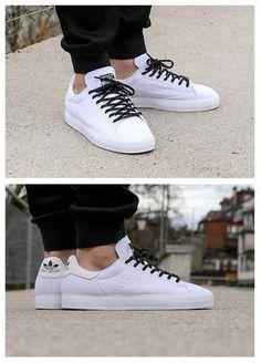 adidas Stan Smith Vulc: All White