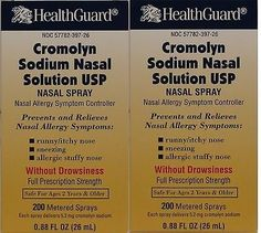 cool Cromolyn Solution For Nasal Allergies Generic for Nasalcrom 0.88 oz PACK of 2 - For Sale View more at http://shipperscentral.com/wp/product/cromolyn-solution-for-nasal-allergies-generic-for-nasalcrom-0-88-oz-pack-of-2-for-sale/