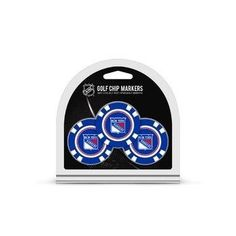 New York Rangers Golf Chip with Marker 3 Pack