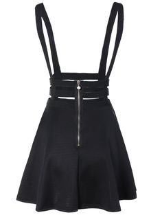 Shop A Line Suspender Skirt at victoriaswing, personal womens clothing online store! high quality, cheap and big discount, latest fashional style! Casual Outfits, Cute Outfits, Fashion Outfits, Womens Fashion, Casual Wear, Suspender Dress, Dress Clothes For Women, Dark Fashion, Retro Dress