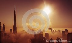 Fog in Dubai