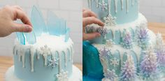 So machen Sie eine Frozen Elsa Torte ! Anleitung hier :)