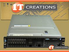 IBM SYSTEM X3650 M4 2.5 SERVER TWO E5-2650LV2 1.70GHZ 192GB 3 X 600GB 10K SAS M5