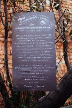 Placas Para Decorar Seu Casamento [ Inspiração ] | A Noiva SUD