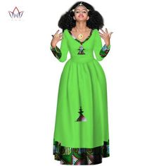 ETHNIC dresses for women, african LONG gown sleeve dresses for women v-neck in african clothing,dashiki fabric Ethiopian Traditional Dress, Traditional Dresses, African Prom Dresses, African Dress, Gowns With Sleeves, Sleeve Dresses, Dashiki Fabric, Ethiopian Dress, Ethnic Dress