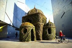 Ballroom: A Giant Willow Nest in Melbourne With Tall Ceilings and Celestial Windows | Inhabitat - Sustainable Design Innovation, Eco Architecture, Green Building