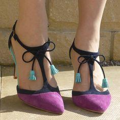 What Lizzy Loves wears Boden Alice Heels. March 2015.