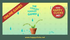 Move the mouse game for children: Collecting Raindrops! Encourage your children with these original online games.
