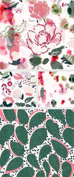 Bloom Collection by Veronique Jacquart http://www.veroniquejacquart.com/