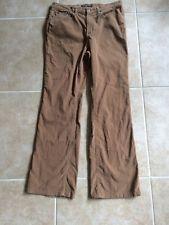 Polo Jeans Company Ralph Lauren Women's Brown Corduroy Pants Size 12