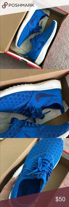 319b378698 Shop Women s Nike Blue size 8 Athletic Shoes at a discounted price at  Poshmark. Super new nikes. With original box.