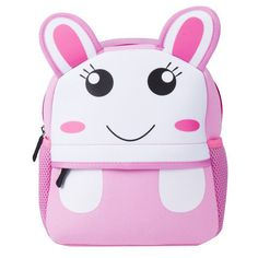Pink Unicorn SUN LOVE BABY 3D Cute Animal Shape Design Backpacks for Toddler Kids Boys Girls Preschool Kindergarten Childrens School Bags