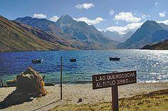 Pérou Parc national Huascaran lac Queracocha