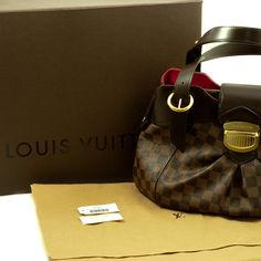 FREE SHIPPING TODAY! Louis Vuitton Damier Canvas Sistina PM | Couture Corner