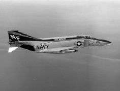On January 12, 1973, forty-two years ago today, an F-4 Phantom II flown by Lieutenants Victor Kovaleski and James Wise, flying off the carrier Midway (CVA 41), shot down a North Vietnamese MiG-17, scoring naval aviation's last air-to-air kill of the Vietnam War. The F-4 Phantom II displayed at the museum was assigned to VF-161 when Lieutenants Patrick Arwood and James Bell flew the aircraft in shooting down a MiG-19 on May 18, 1972.