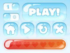Ski Game UI