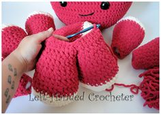 Giant Crochet Octopus! Yes!