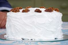 Walnut Cake - British Bake off