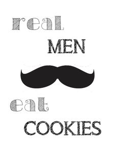 Aiden's Party: Milk, Cookies, and Mustaches (and free mustache printables!)   Shoes Off, Please