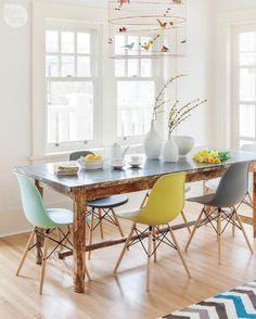 5 tips para mezclar sillas de comedor ¡sin equivocarte! - dekoholic!