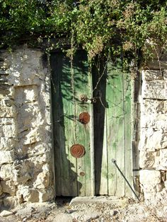 Green Door, in Lofou (Λόφου). The  village is thought to have been founded some years before Cyprus came under Frankish rule, in the late 12th century. During that time and because of Saracen invasions, the locals abandoned the coast and moved to inner parts of the island, to find refuge. The location of the village was truly ideal for their needs since it is hidden in the mountains and provided a sense of security.