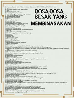 Com: 70 dosa-dosa besar - dari Kitab Al-Kabaair tulisan. Reminder Quotes, Today Quotes, Self Reminder, Life Quotes, Quran Quotes Inspirational, Islamic Love Quotes, Muslim Quotes, Text Quotes, Words Quotes