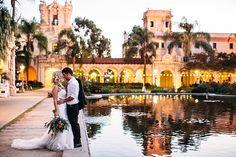 Southern California Bride: Intimate Balboa Park San Diego Wedding by Ashley…