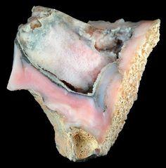 Pink Peruvian Opal from Cajamarca Province in Peru