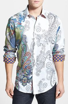 Robert Graham Classic Fit Sport Shirt available at #Nordstrom