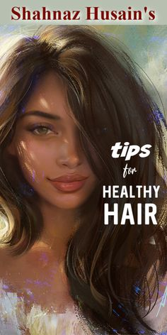 5 Very Straightforward To Comply with Suggestions By Shahnaz Husain For Hair Care Diy Hair Care, Curly Hair Care, Hair Care Tips, Curly Hair Styles, Castor Oil For Hair, Hair Oil, Hair Loss Cure, Dull Hair, Natural Haircare