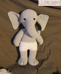 Infanta Elefanta Patrón Gratis