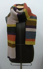 Ravelry: Morris and Sons Dr Who Scarf pattern by Morris & Sons