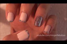 New Years cute nail design