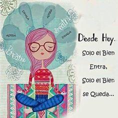 """9 Likes, 1 Comments - Elidee Hernandez (@elidee_hernandez) on Instagram: """"Que venga lo bueno... Abrir las manos #fuerza #amor #magia #frasematona #frasedeldía"""""""