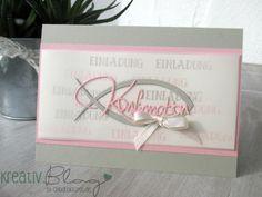 Kreativ Blog by Claudi: Konfirmation in rosa