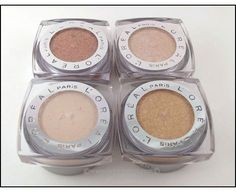 L'Oreal Infallible Eye Shadow.... beautiful eye shadow!  I have iced latte, amber rush, and eternal sunshine.  LOVE THEM!