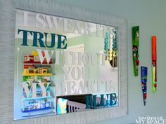 Why Buy When You Can DIY?: Land of Nod Inspired Rainbow Book Ledges