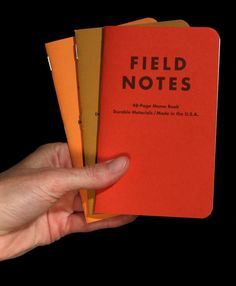 FIELD NOTES COLORS Limited-Edition Memo Books!!!!