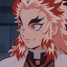 anime: kimetsu no yaiba/demon slayer↷ Slayer Anime, Cute Icons, Demon, Anime, Yandere, Cartoon, Anime Characters, Manga, Aesthetic Anime