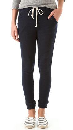 SUNDRY Slouchy Skinny Pants