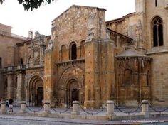 Esta es una foto de la Basílica de San Isodoro. Fue construido a principios del siglo x.
