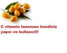 evinizde c vitamin tozu  yapabilirsiniz Food And Drink, Vegetables, Islam, Fit, Shape, Vegetable Recipes, Veggies