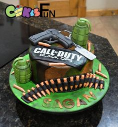 Call of Duty Black Ops Cake by Benedetta Rienzo Cakes My Cakes and