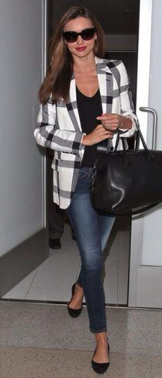 B & W- Miranda Kerr